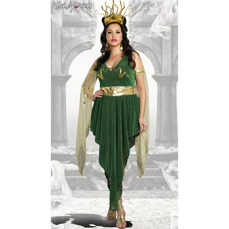 Plus Size Medusa Costume - Plus Size Green Fairy Costume