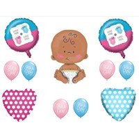"Little Man or Little Miss GENDER REVEAL BOY GIRL 24"" CELEBRATE BABY SHOWER"