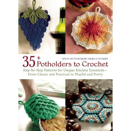 35+ Potholders to Crochet : Step-By-Step Patterns for Unique Kitchen Essentials-From Classic and Practical to Playful and - Halloween Filet Crochet Patterns