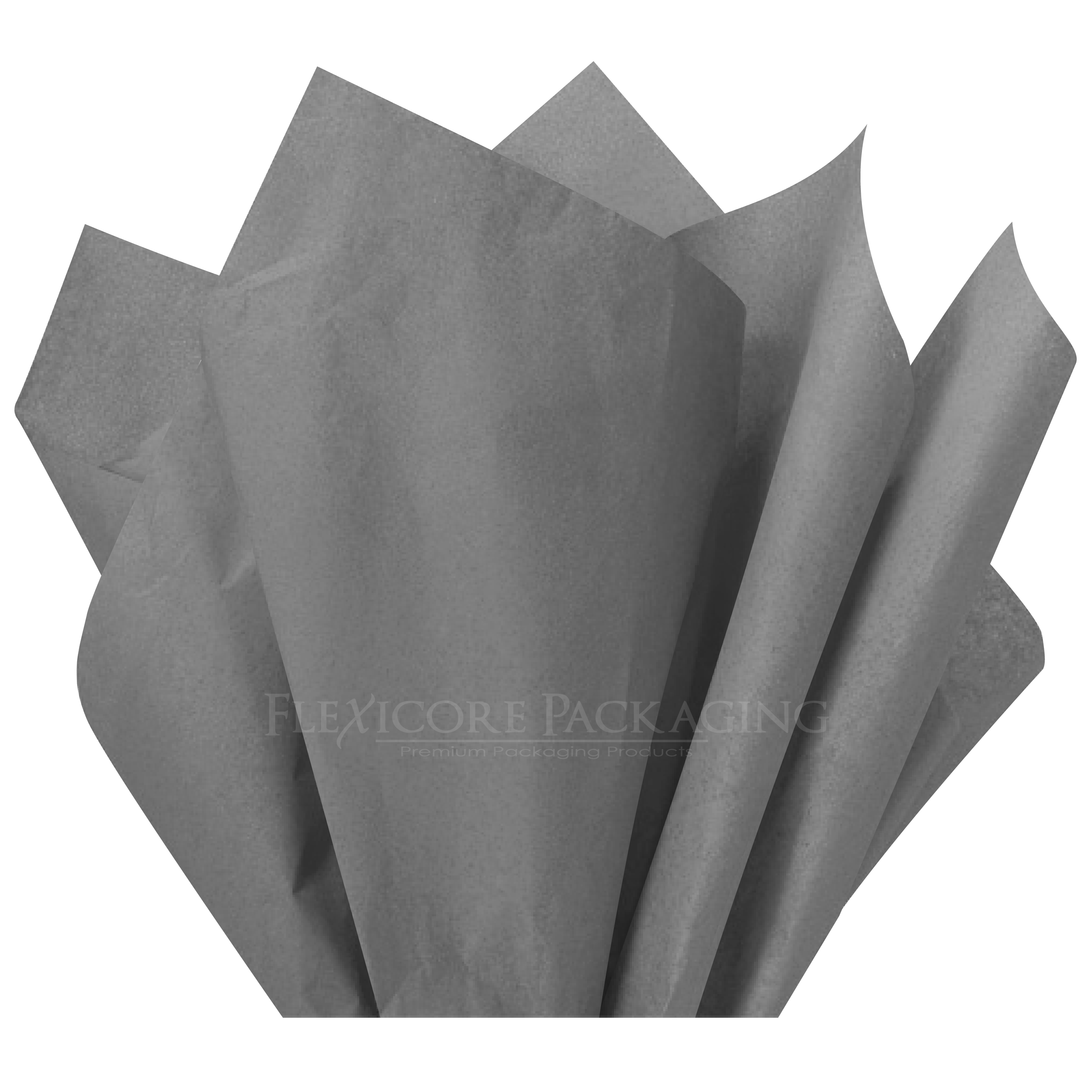"Gray Tissue Paper, 15""x20"", 100 ct"