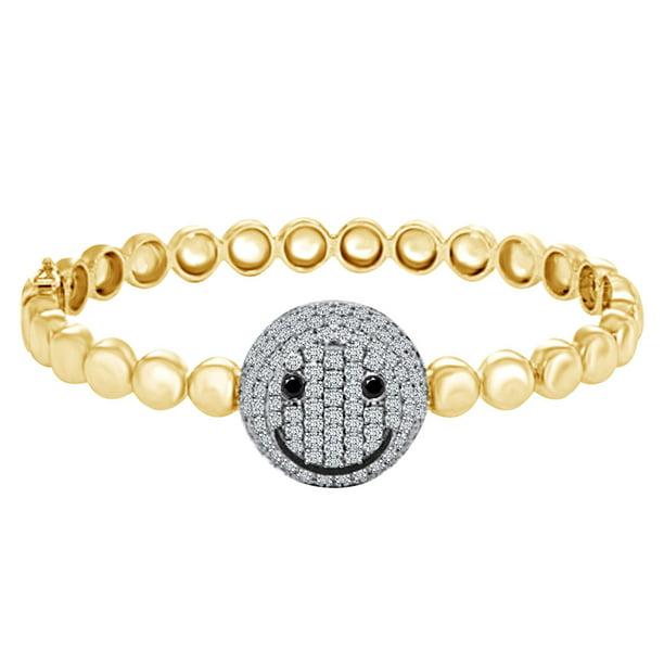 Much Love Smiley Bracelet
