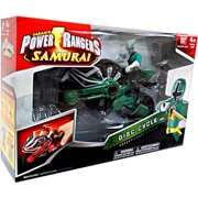Power Rangers Samurai Disc Cycle Action Figure [Forest]