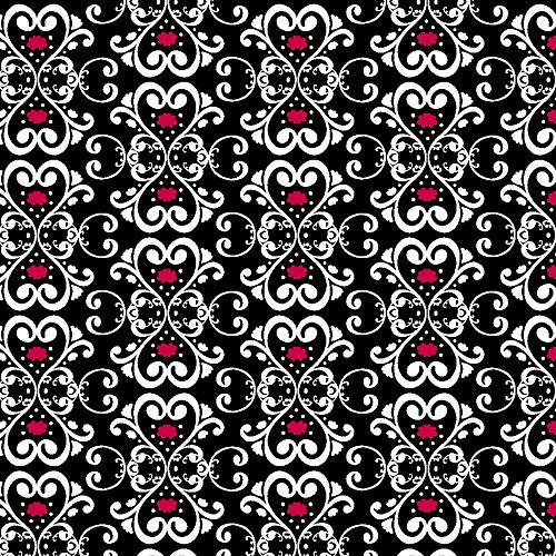 "Creative Cuts Cotton 44"" wide, 2 yard cut fabric - Scroll Print"