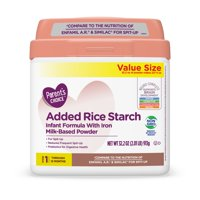 Parent's Choice Added Rice Starch Non-Gmo* Infant Formula, 32.2 oz