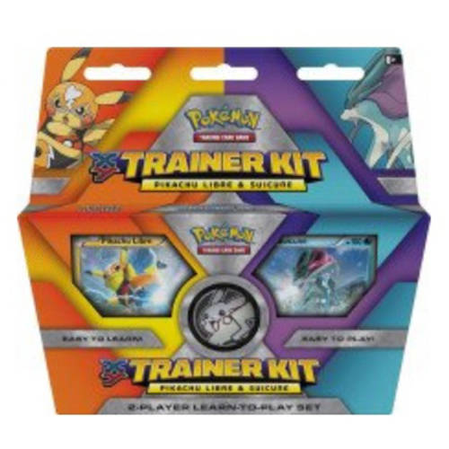 Pokemon Pikachu Libre Suicune Trainer Kit