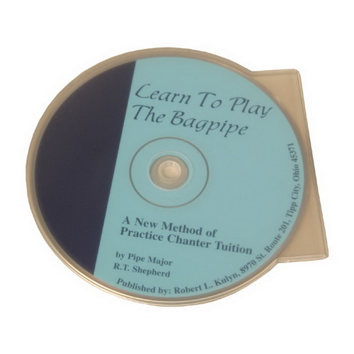 Roosebeck Learn to Play the Bagpipe, CD