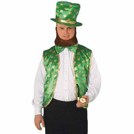 Leprechaun Adult Halloween Costume - Good Halloween Costume With Beard