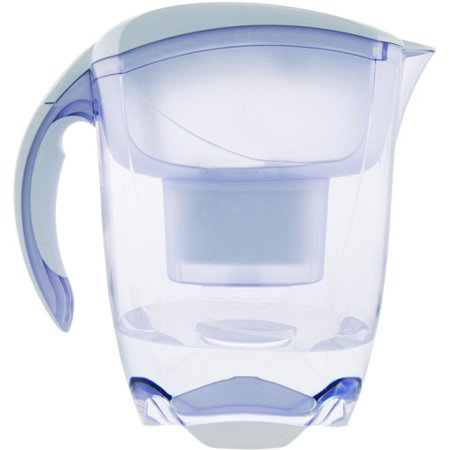 Mavea 1001126 Elemaris XL Water Filtration Pitcher, White