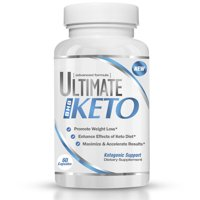 Ultimate Keto - BHB Exogenous Ketone Supplement - Helps with Weight Loss and Keto Diet - Entering Ketosis Fast - Burning Fat - Beta-Hydroxybutyrate Mineral Formula for Men and Women