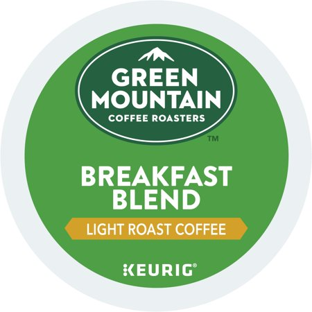 Green Mountain Coffee Breakfast Blend, Keurig K-Cup Pod, Light Roast, 48 Ct