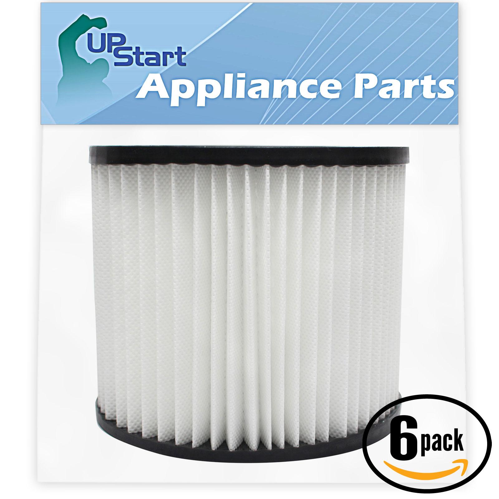 UpStart 6-Pack Replacement Shop-Vac Back Pack 286-00-10 V...