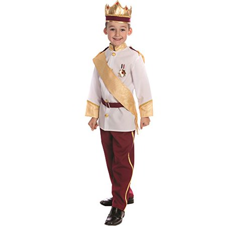 Dress Up America Royal Prince Costume - Size Large (12-14)