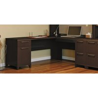 Enterprise Desk-Finish:Mocha Cherry
