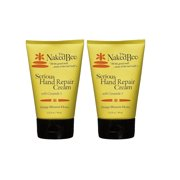 Naked Bee 3.25oz Orange Blossom Honey Serious Hand Repair Cream, Natural Personal Care Products (2 Pack)