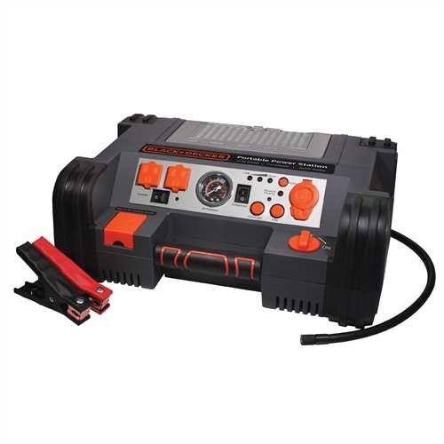 BLACK + DECKER 900/450 Amp Professional Power Station (PPRH5B)