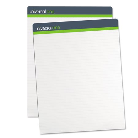 Grid Square Ruled Easel Pad (Universal Sugarcane Based Easel Pads, 1 Inch Rule, 27 x 34, White, 50 Sheets, 2/Pack)