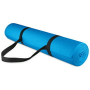 BalanceFrom 1 4-inch Thick All Purpose High Density Non-Slip Yoga Mat with Carrying Strap by BalanceFrom