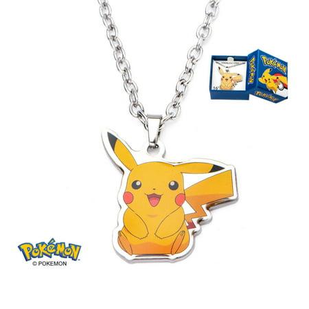 Pokemon Pikachu Poke Ball Trainer Necklaces Pokemon Go - Officially Licensed](Pokemon Trainer Couples)
