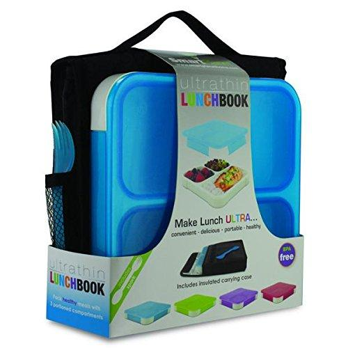 Smart Planet Ulb1setb Blue Ultra Thin Lunchbook With