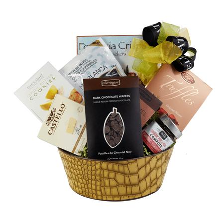 Gourmet Christmas Gift Basket Image 1 Of