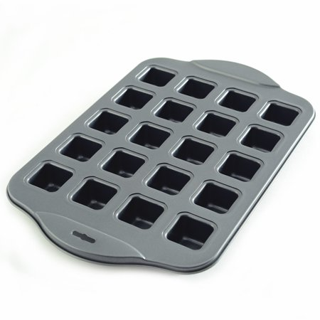 3962 Nonstick Petite Brownie Pan, Bake perfectly portioned brownies every time! By Norpro