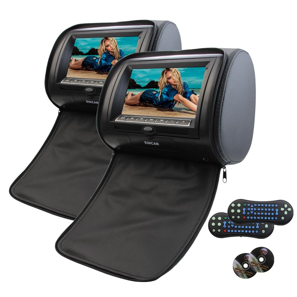 """Universal 7"""" Dual headrest DVD players HD Digital Widescr..."""