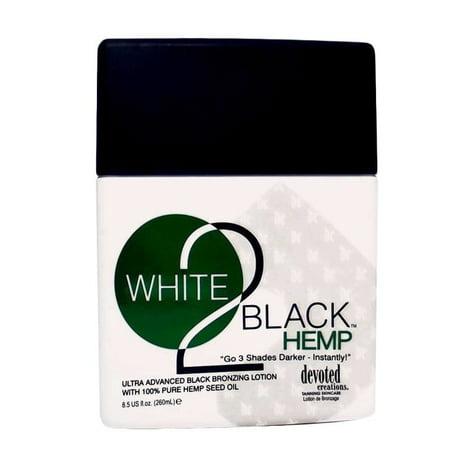 Devoted Creations  White 2 Black 8.5-ounce Hemp Tanning - 8.5 Ounce Hemp