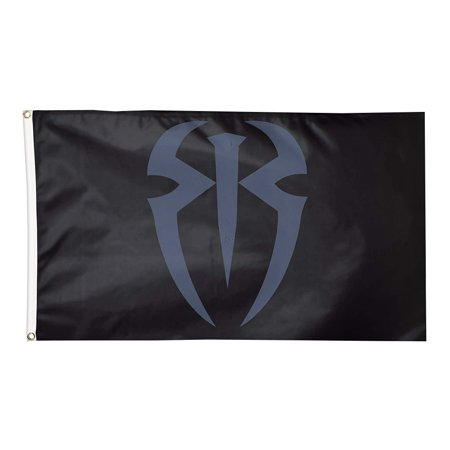 Official WWE Authentic Roman Reigns 3 x 5 Logo Flag - Wwe Banner