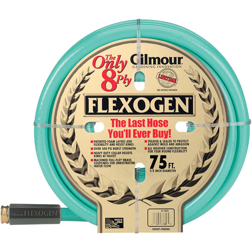 Gilmour 10-12075 1 2 in X 75' 8 Ply Flexogen Garden Hose by Gilmour