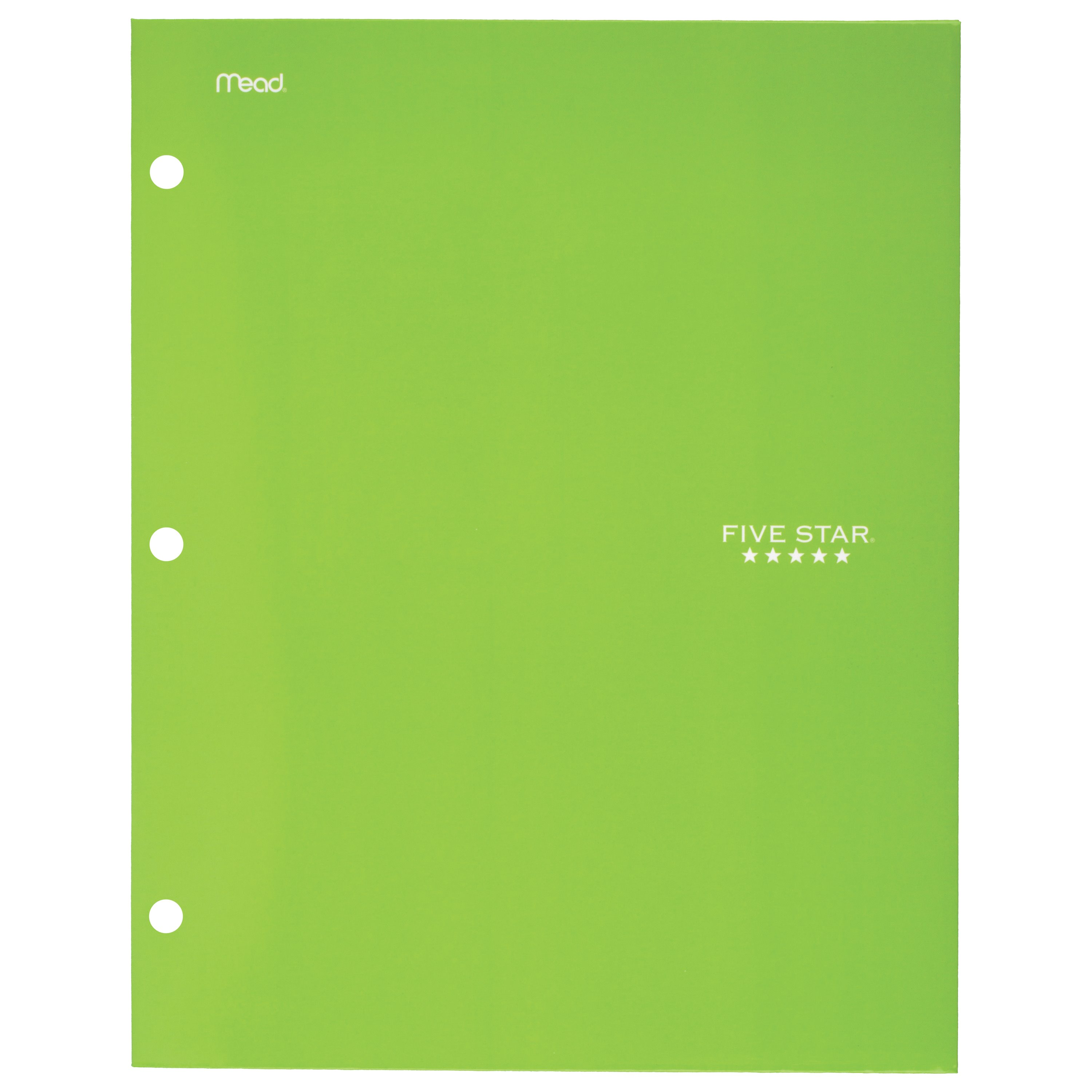 Mead Five Star 4 Pocket Paper Folder Durable Laminate Conversion /& Other Tables