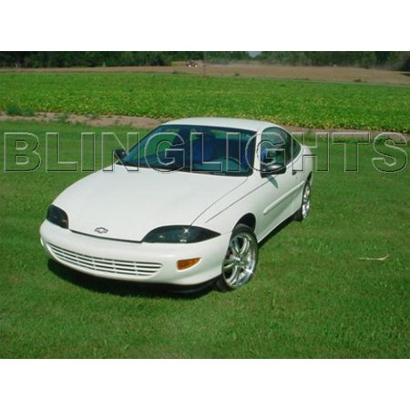 1995 1996 1997 1998 1999 Chevy Cavalier Tint Protection Film for Smoked Headlamps Headlights - Halloween Film 1998