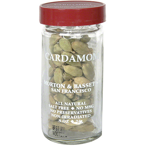 Morton & Bassett Spices Cardamom, 0.9 oz (Pack of 3)