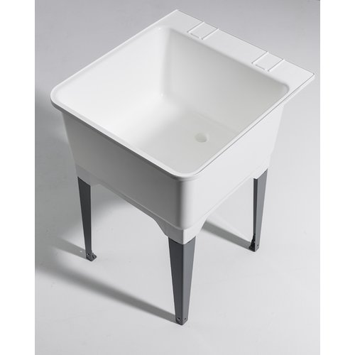 Cashel 22.75'' x 25.25'' Freestanding Laundry Sink