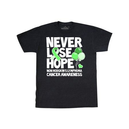 Lymphoma T-shirts (Never Lose Hope Non Hodgkins Lymphoma Cancer Awareness)