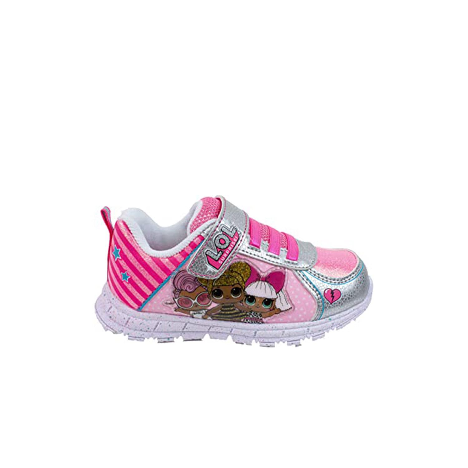 L.O.L Surprise! - L.O.L Surprise Girls Sneakers, Light Up Fashion and Athletic  Shoes with Strap, Queen Bee Deva MC Swag and Rocker - Walmart.com -  Walmart.com