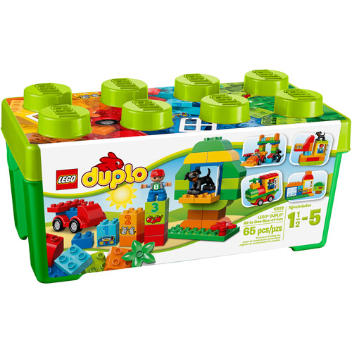 LEGO DUPLO All-in-One Box of Fun Building Set