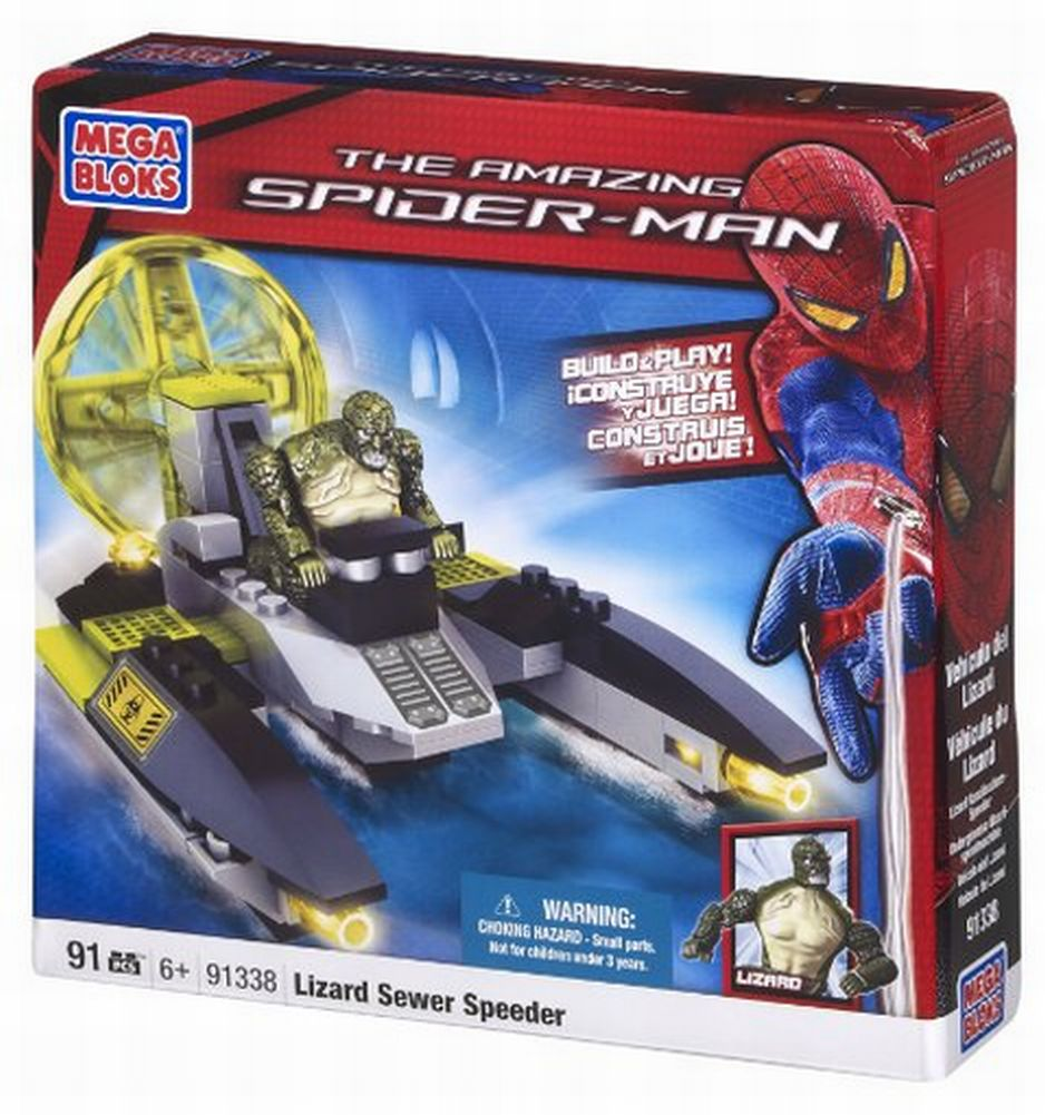 Mega Brands Lizard-Man Sewer Speeder