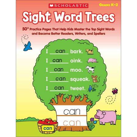 Sight Word Trees  Grades K 2