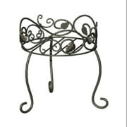 Panacea Products Corp-Import 89170 11.5-Inch-High Scroll/Ivy Style Plant Stand