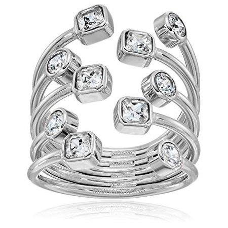 Michael Kors Gold Modern Brilliance Ring, Size 6 (Michael Kors Rings Size 6)