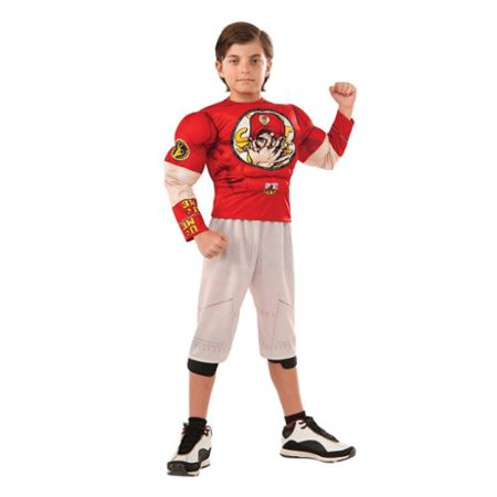 WWE Muscle Chest John Cena Wrestler Costume Child](Cena Halloween Ideas)
