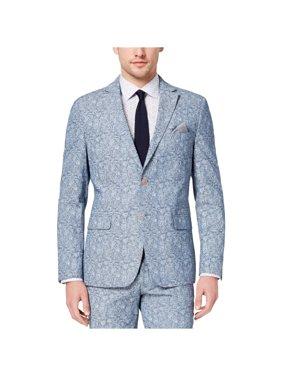 Paisley Cotton Denim Jacket