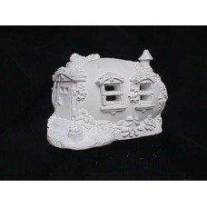 House plastercraft unpainted unfinished no fire use acrylic paints easter house 3  4.5