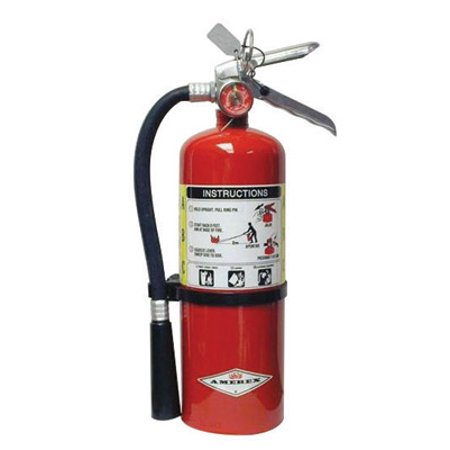 Image of Amerex 5 Pound ABC Dry Chmcl Fire Extinguisher With Aluminum Valve