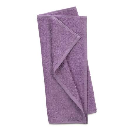 Utica Cotton Towel Set, 6-Piece, Purple