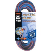 Prime Heavy Duty 25-Foot Arctic Blue All-Weather TPE Extension Cord