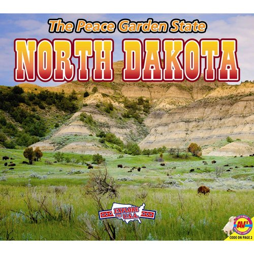 North Dakota, with Code: The Peace Garden State