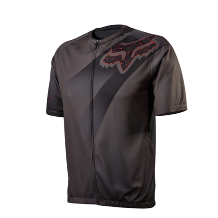 Fox Head Cycling Men's LIVEWIRE DESCENT Jersey Charcoal  Size Large - Fox Head Coupon Codes