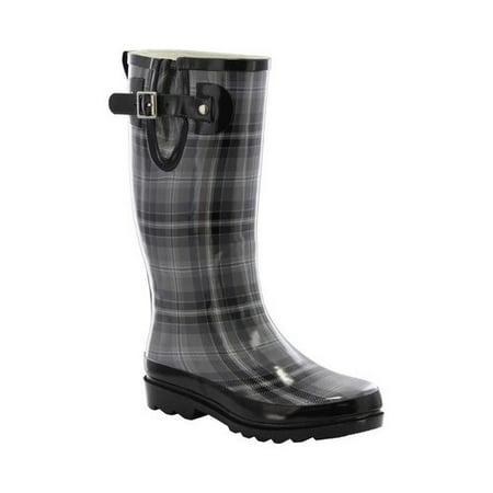 Women's Western Chief Highland Plaid Rain - Master Chief Boots