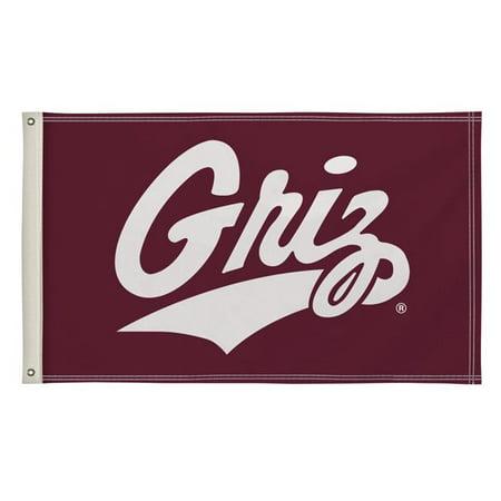 Victory Corps 810003UMT-001 3 x 5 ft. Montana Grizzlies NCAA Flag - No.001 - image 1 de 1
